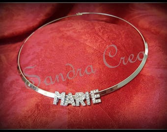 Necklace personalized letter choice (sold separately)