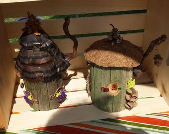 Rustic Fairy Houses