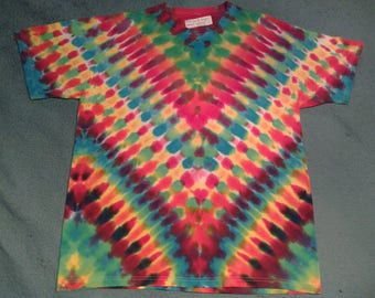 "tie dye t shirt adult large""candy dragon"""