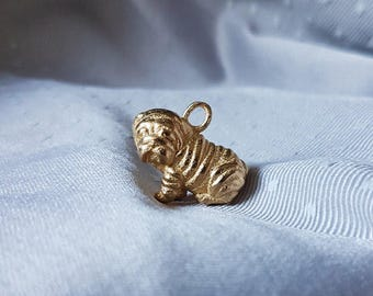 Builldog Puppy Pendant