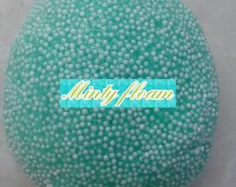 minty green floam