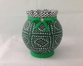 Vase or Votive or Candle Holder