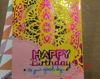 Bright Cheery Birthday Card