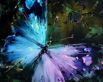 Blue Butterfly.