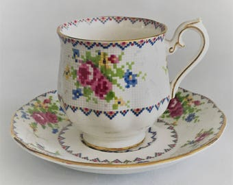 Royal Albert Petit Point Cup and saucer