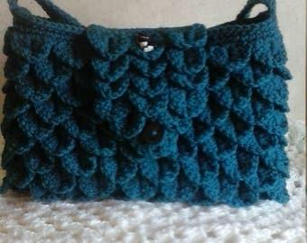 crocodile stitch purse
