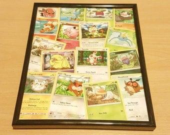Pokemon Card Collage
