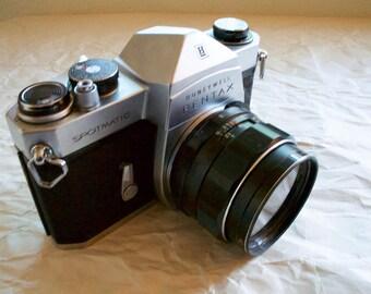 Pentax Spotmatic 35mm Vintage Film Camera