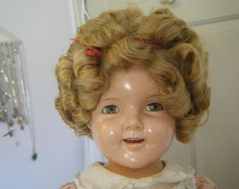Shirley Temple composition doll 1940s
