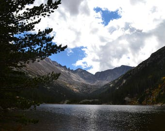 Mill's Lake, Rocky Mountain National Park