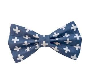 Dog Bow Tie - Swiss Cross