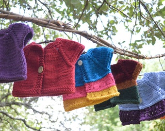 Hand Knit Baby Doll Summer Sweaters
