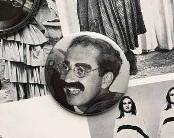 "Groucho Marx 2.25"" Pin (One-Of-A-Kind)"