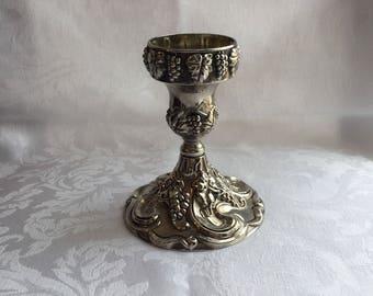 Vintage Godinger candlestick holder