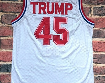 Donald Trump USA Basketball Jersey *Great for July 4th* AMERICA! Its Gonna Be Huuuuge