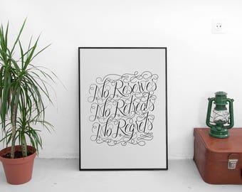 William Borden Quote - Digital Download - Quote Print, Quote Art, Quote Illustration, Digital Print, Wall Decor