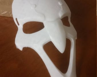 Overwatch 3D Printed Reaper Mask - Full Size, Cosplay