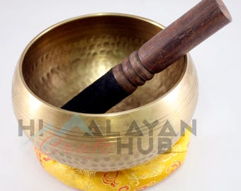4 Inch Hand Hammered Tibetan Singing Bowl