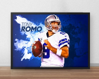 Tony Romo Poster - Dallas Cowboys