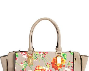 Chic Satchel with Long Strap
