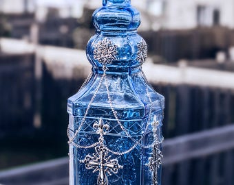 Antique Cross Bottle