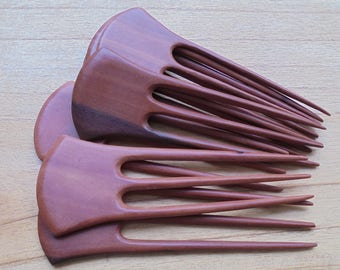 3 Prongs Wood Hair Sticks, Hair Pin, Hair Fork, Hair Accessories HS113