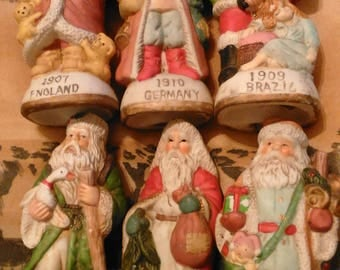 Global Old World Santa Claus 1800s to Early 1900s