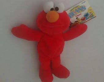 Sesame Street BEANS Elmo by Tyco