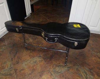 Vintage Guitar Case Table