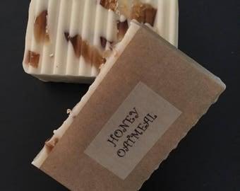 Honey Oatmeal, Goat's Milk Soap