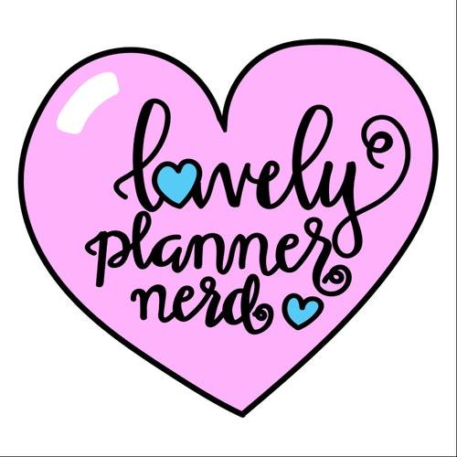 Lovely Planner Nerd by LovelyPlannerNerd on Etsy