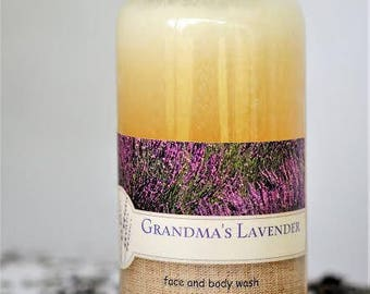 Lavender Face and Body Wash