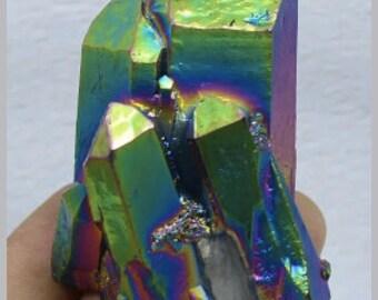 Clearance - Rainbow Angel Aura - Healing Crystal (see description)