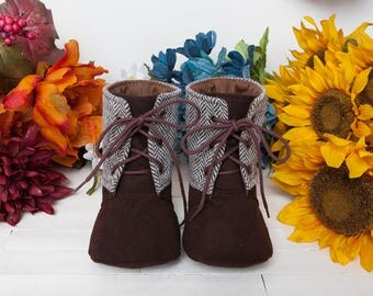 1339 Mitchelle Baby Boots PDF Sewing Pattern