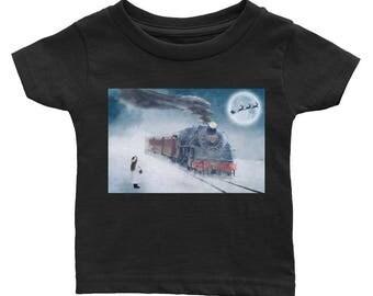Christmas Train infant t-shirt 6m 12m 18m 24m
