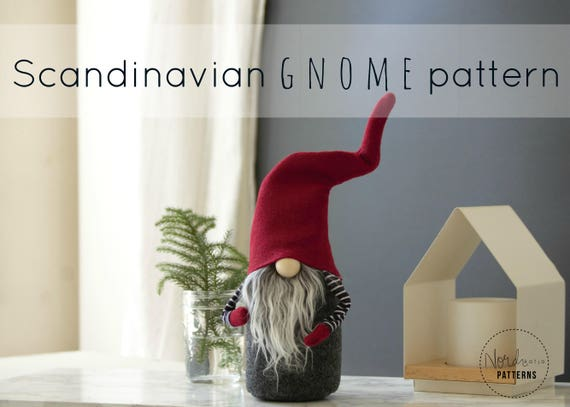 claus the scandinavian christmas gnome pattern by nordikatja do it yourself diy pdf. Black Bedroom Furniture Sets. Home Design Ideas