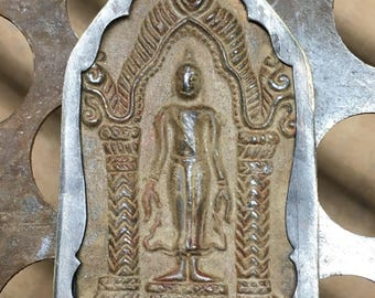 Standing Buddha amulet pendant from Thailand