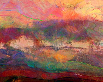 Abstract Art  Print, Digital Creation