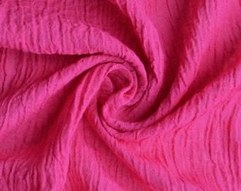 Linen clothes, Linen dress, linen trousers, Pure Linen, Linen, Natural Linen, Linen Gauze, Fabric, Scarf, Scarves, Shawl, Pink, Flax