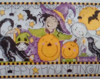 Halloween happy haunting