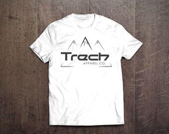 Trech Apparel Co. White T-Shirt / Big Front Logo