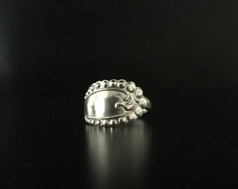 Sterling Silver Spoon Ring 4