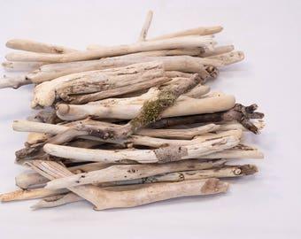 50 Unique Natural Bulk Driftwood Pieces