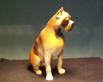 Royal Dux Boxer Figurine