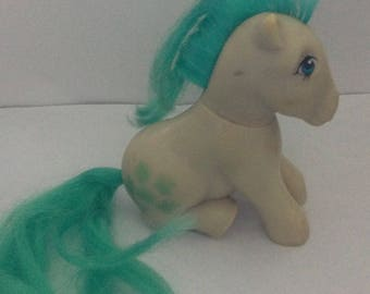 Vintage  My Little Pony Seashell Doll 1980s 80s