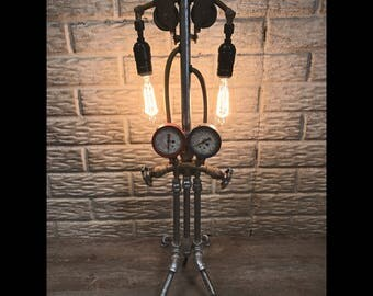 Industrial Style Table Lamp