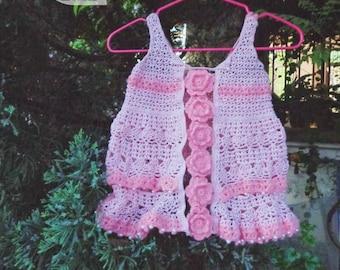 Flower baby girl dresses, Pink flower baby girl dress
