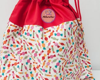 Personalised Children Sack, sports activities, nursery, kindergarden, kids sack
