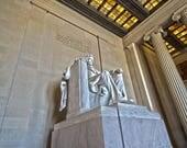 Lincoln Memorial Statue 8x10 photo