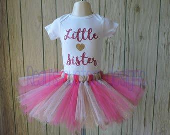 SALE! Little sister big sister shirts and tutus | Little sis big sis outfits